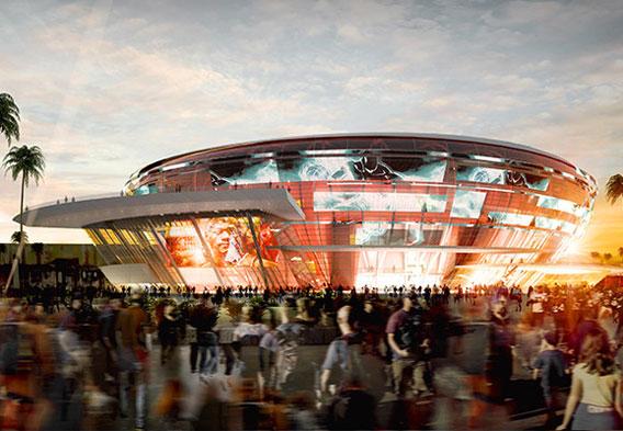 All Net Resort Arena  Las Vegas Strip Arena