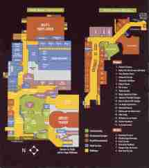 Bally's Las Vegas Map