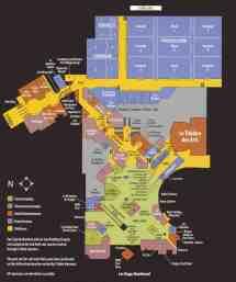Paris Las Vegas Hotel Map