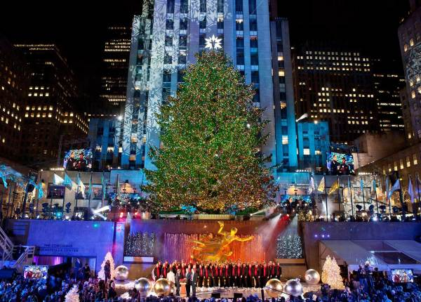 Christmas in New York 2019 Rockefeller Center Christmas Tree