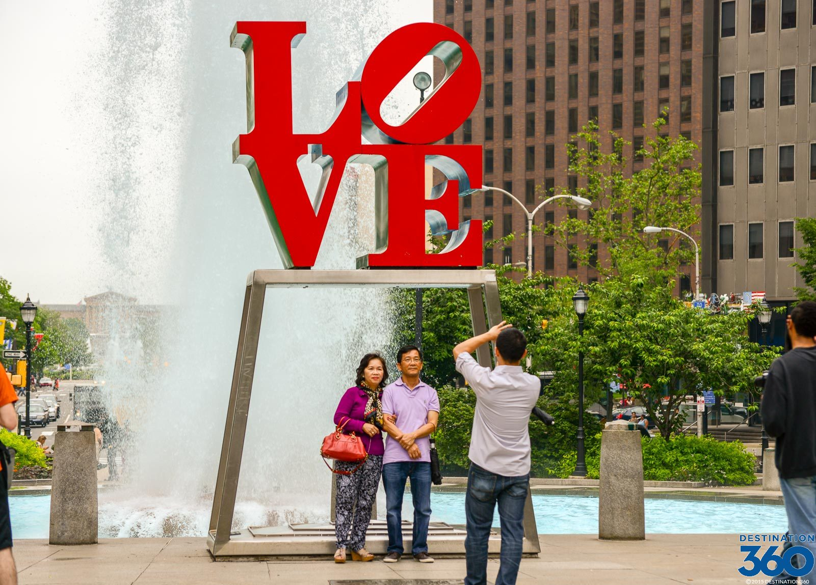 Love Park  JFK Plaza  Love Park Philadelphia