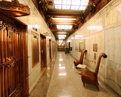 Smith Tower Seattle  Smith Tower Lobby