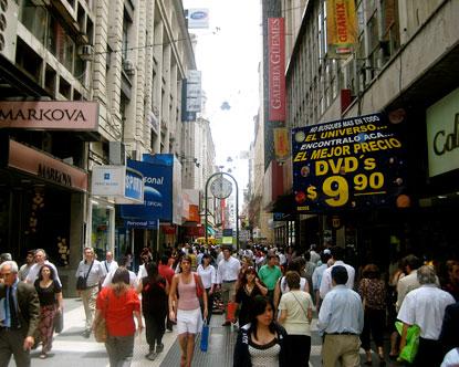 Calle Florida  Florida Street in Buenos Aires
