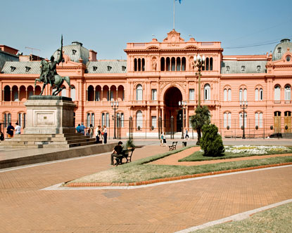 Casa Rosada  Presidential Palace in Buenos Aires
