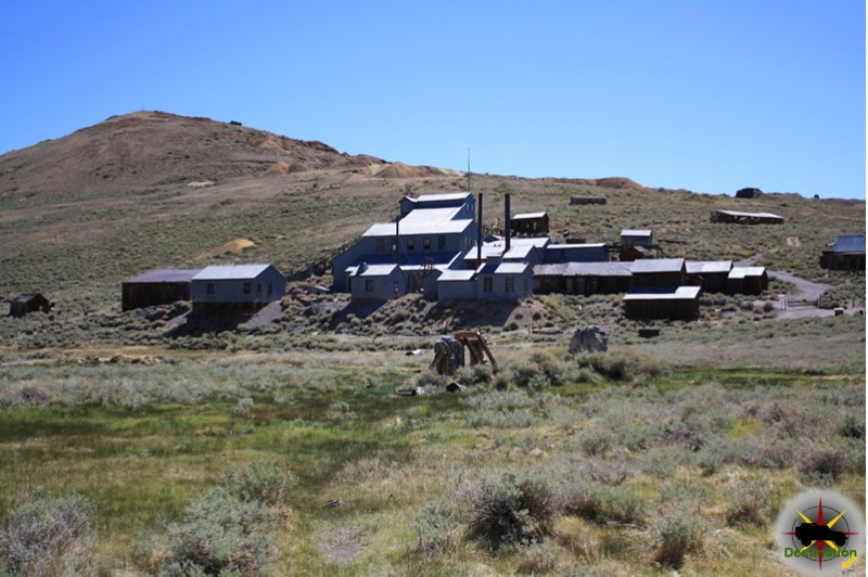 The Standard Mill, Bodie Ghost towns, CA. Photograph by James L Rathbun