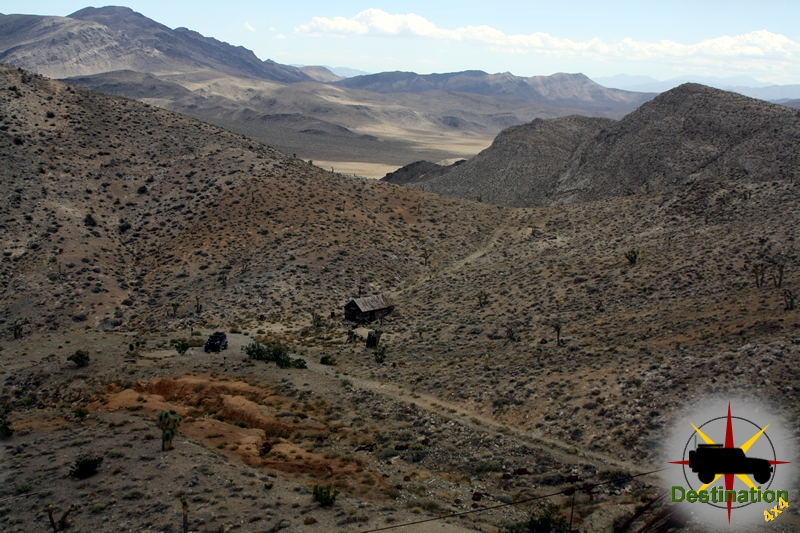 The Lost Burrow Mine is located off Hunter Mountain Road in Death Valley National Park, CA