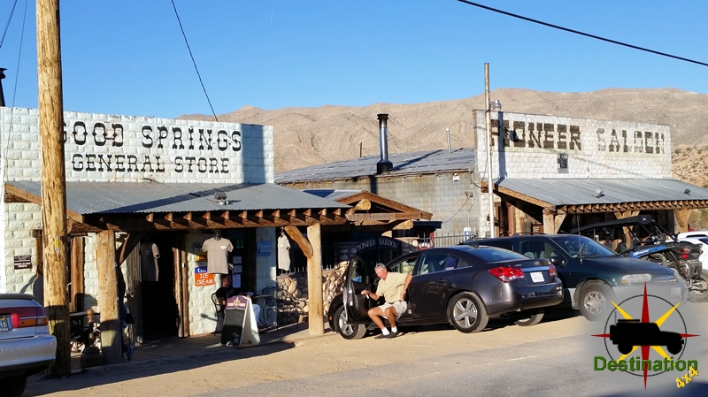 The Pioneer Saloon located in Goodsprings, Nevada is still open and quite busy near Las Vegas