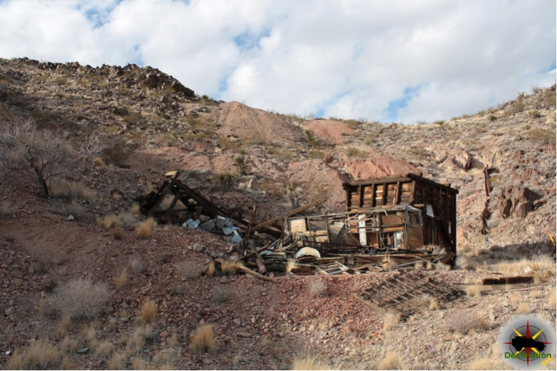 Lucy Grey Mine, Clark County Nevada. Photo by James L Rathbun