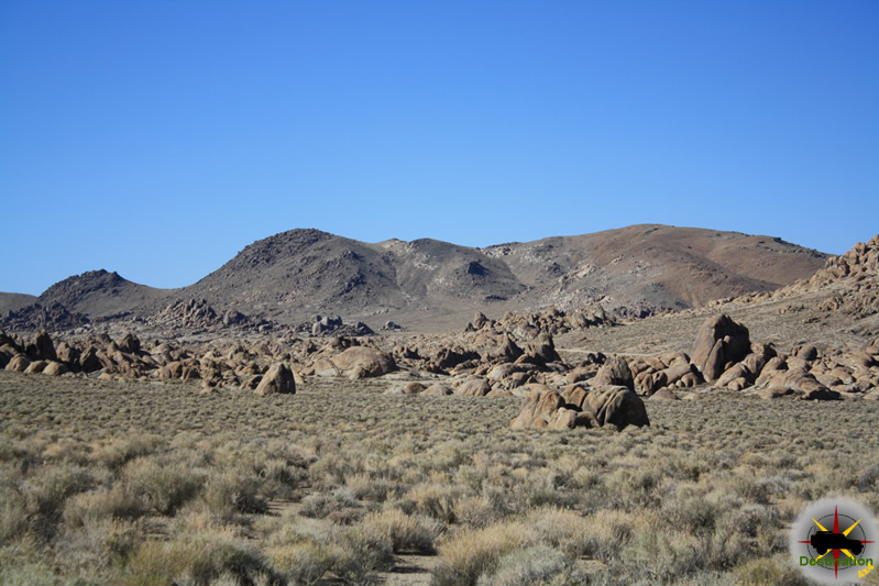 Alabama Hills outside of Lone Pine, California