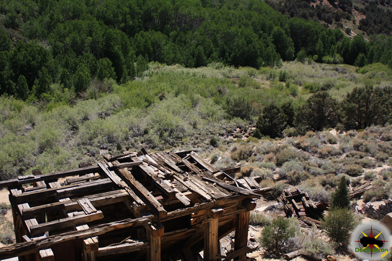 Masonic Mill Site, Masonic, California. Photograph by James L Rathbun