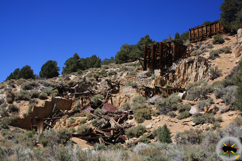 Mill site from the middle section of Masonic, California. Photograph by James L Rathbun