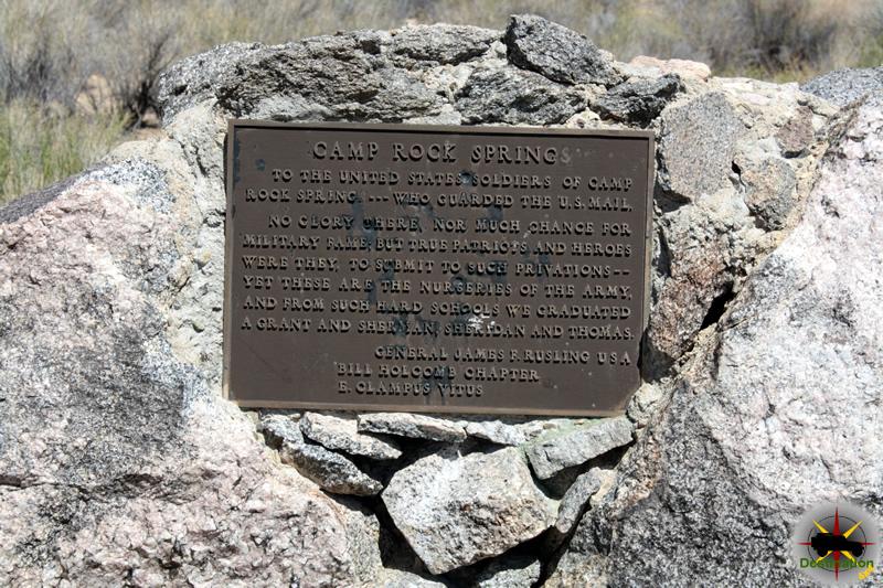 Camp Rock Springs, Old Mojave Road