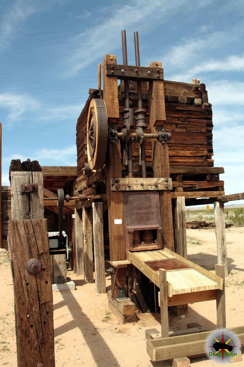 Functioning Stampmill, Goffs, CA