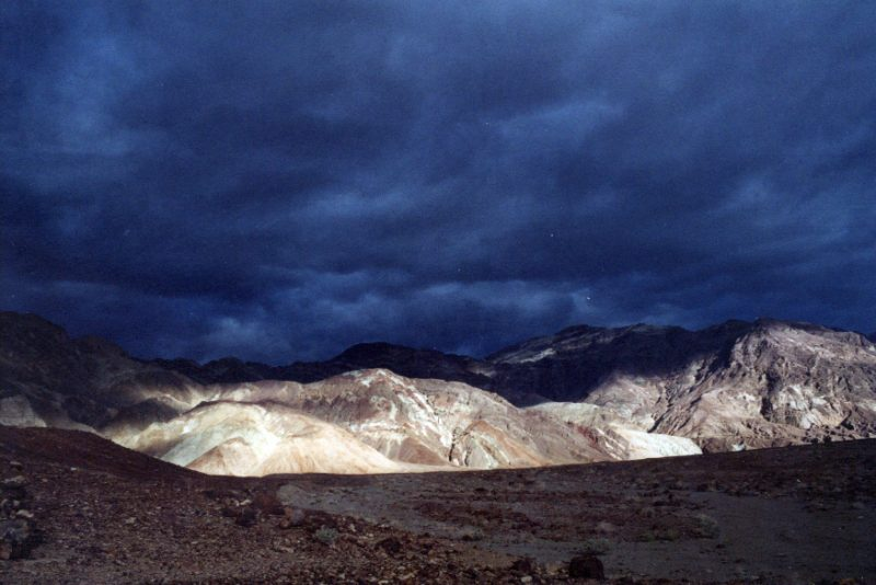 Thunderstorm in Death Valley National Park
