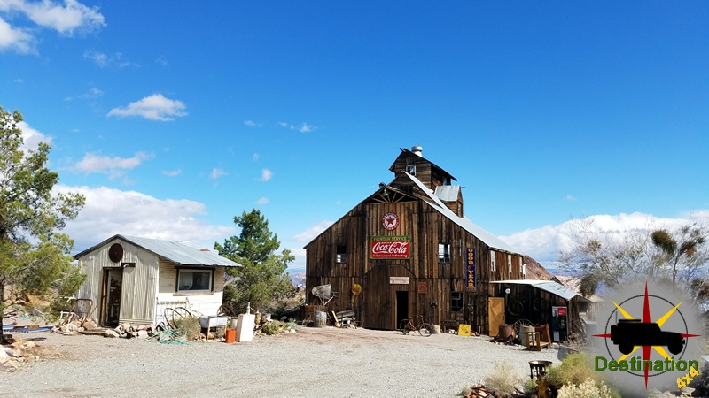 Many structures are still standing, Nelson, Nevada.