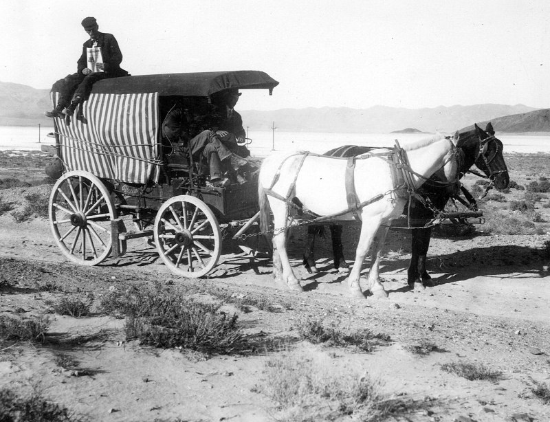 U.S. Geological Survey outfit enroute Blair to Silverpeak. Silver Peak quadrangle. Esmeralda County, Nevada. 1912.