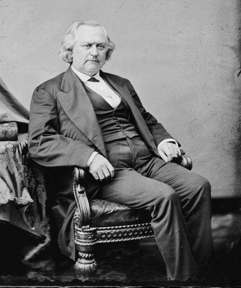 "James W. Nye. Library of Congress description: ""Hon. James Warren Nye of Nevada"""