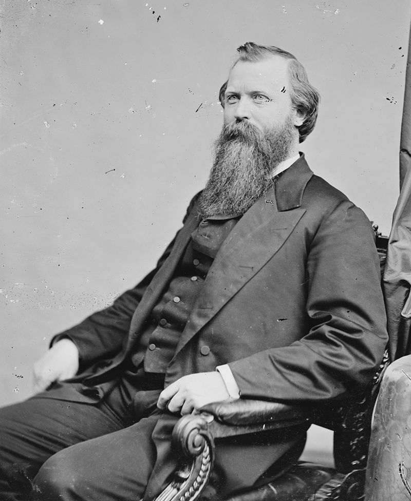 William M. Stewart. Photo by Matthew Brady
