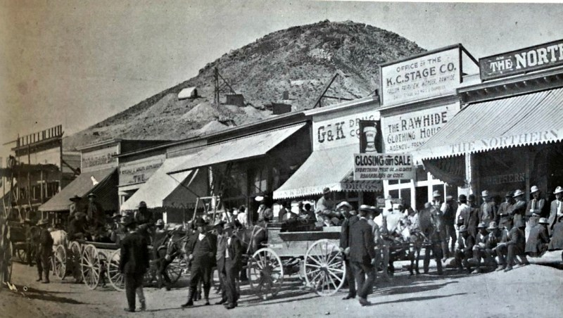 Streets of Rawhide, Nevada 1908