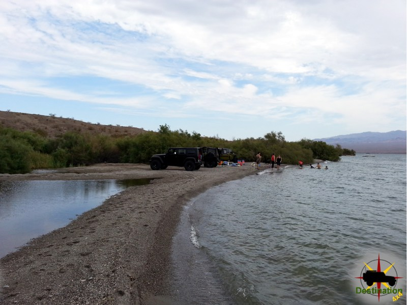 Sandy Wash offered a nice remote beach to enjoy on Lake Mojave
