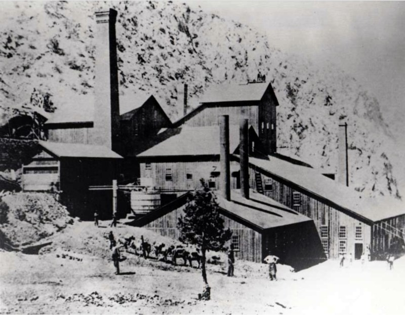 Panamint City Stamp Mill