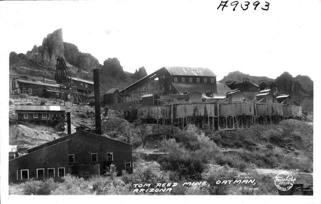 Tom Reed Mine, Oatman, Arizona, 1935