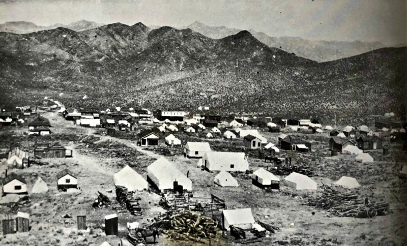The Wonder mining camp, Nevada 1907.