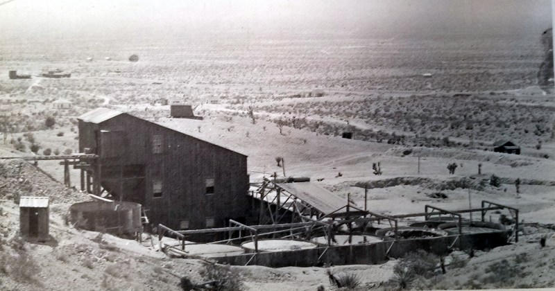 The Ten-Stamp Mill in Pioneer Nevada