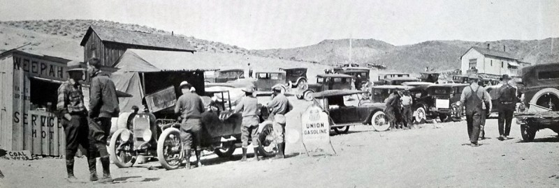 """""""Mail order miners"""" did not look the part of the desert prospecots like Shorty Harris. - Nevada Ghost Towns and Mining Gamps - Paher"""