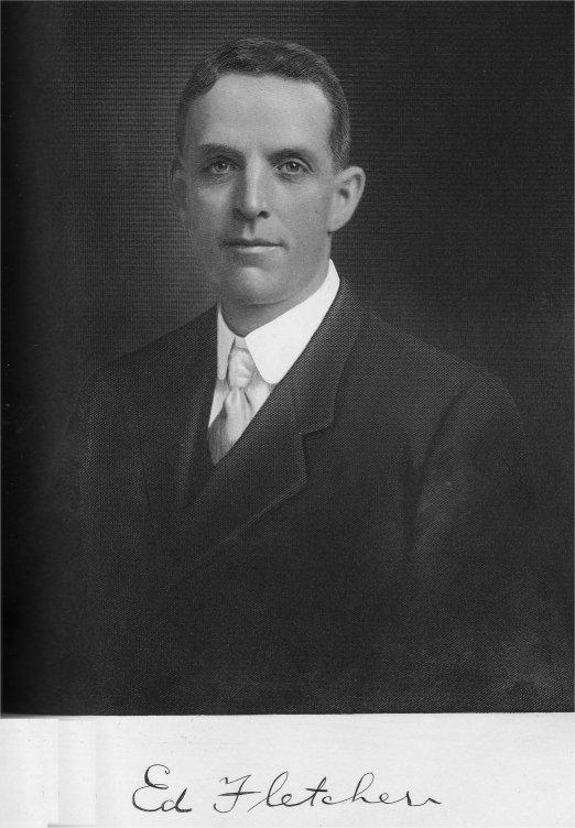 """""""Colonel"""" Ed Fletcher (December 31, 1872 – October 15, 1955) California Senator"""