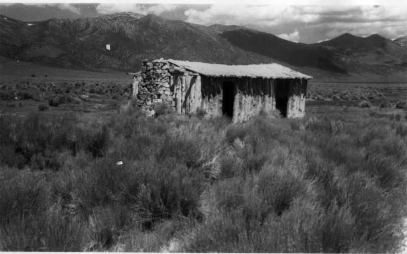 Ruby Valley, White Pine County, Nevada - Ruby Valley Pony Express Station - photo taken in 1944