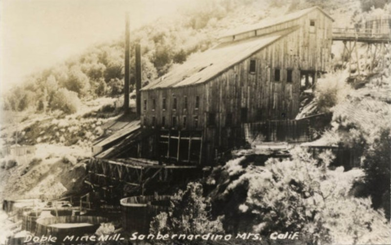 Doble Mine, San Bernardino County, 1930 - Photography by Adelbert Bartlett, UCLA Library Digital Collections