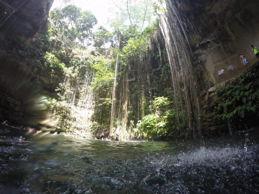 Destination Addict - Ik Kil Cenote, neat Chichen Irza, Mexico