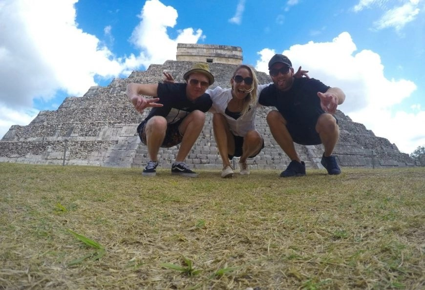 Destination Addict - Just hanging out at Chichen Itza, Mexico