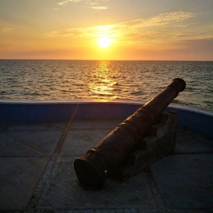 Destination Addict - Stunning sunset on the Malecon, Campeche, Mexico