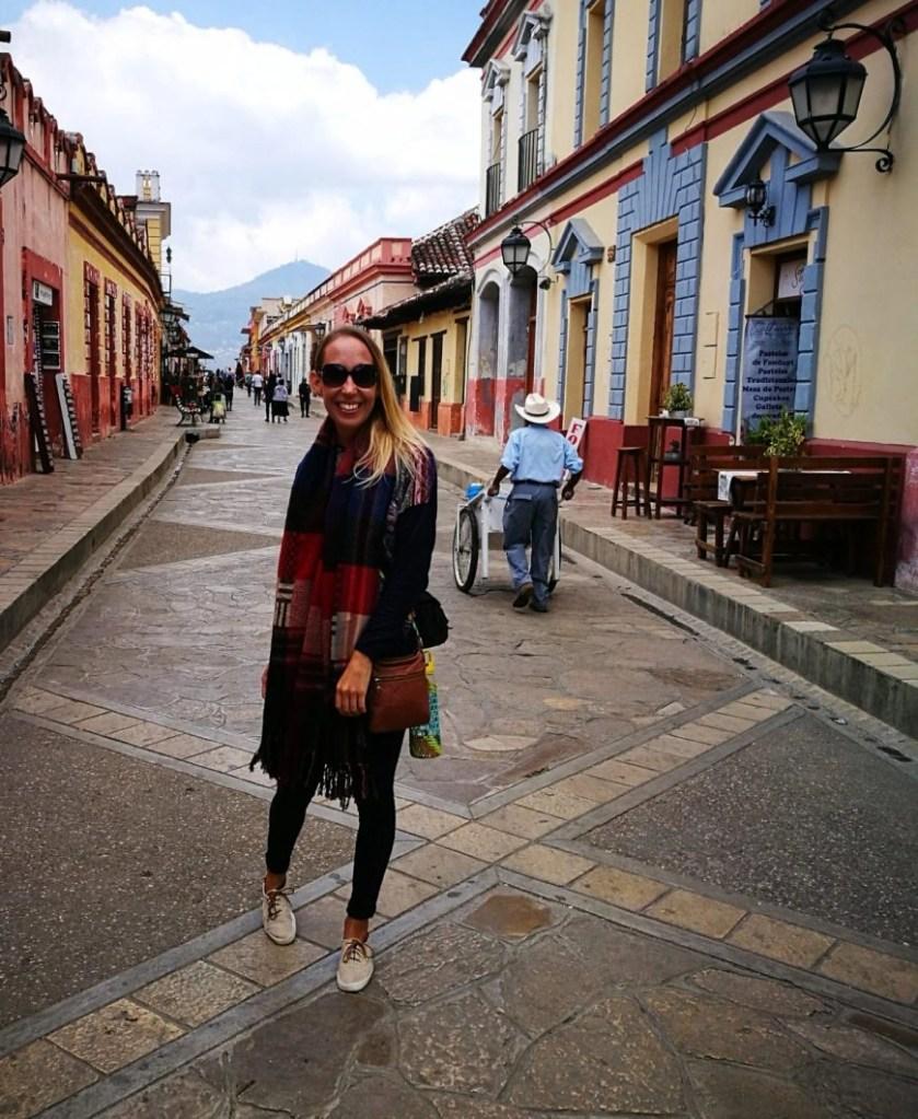 Destination Addict - Talking a stroll down San Cristobal De Las Casas' main street, Mexico