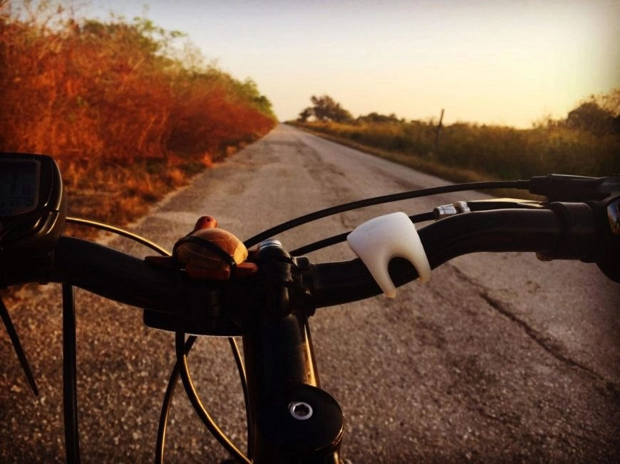 Destination Addict - Nothing but open road in front of us from Mantanzas to Varadero, Cuba