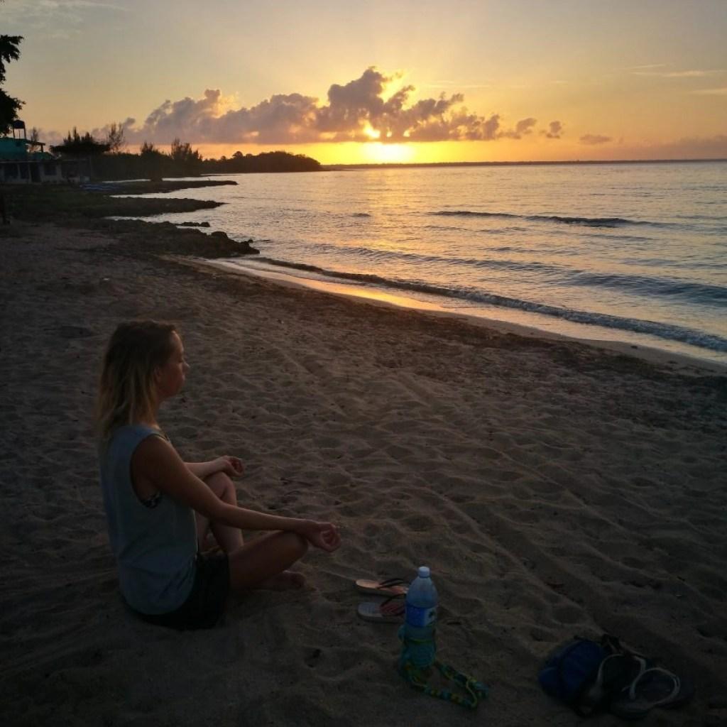 Destination Addict - Meditating on Playa Larga, Cuba