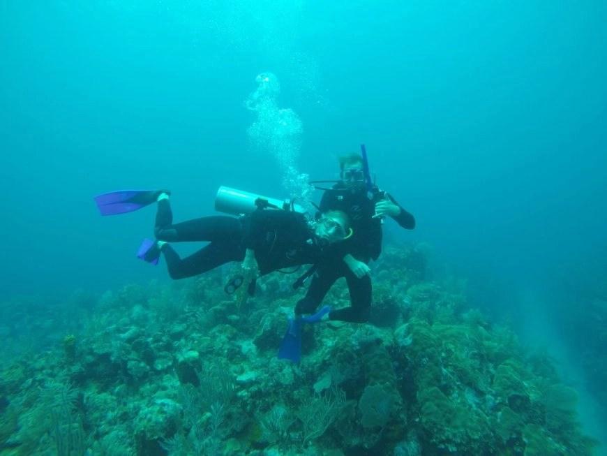 Destination Addict - Diving off the coast of Mahahual
