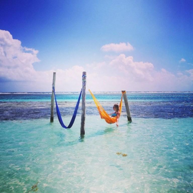 Destination Addict - Beach hammock vibes in Mahahual