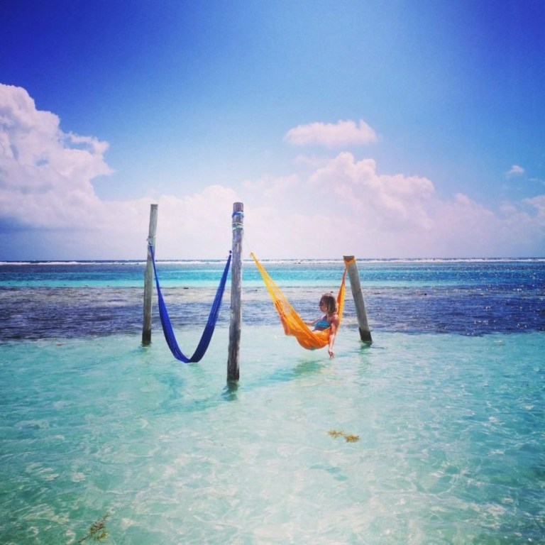 Destination Addict - Beach hammock vibes in Mahahual