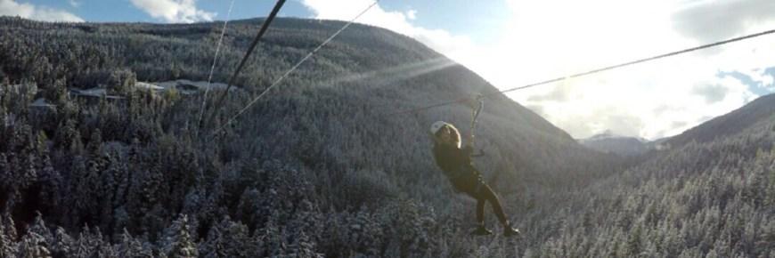 Facing Fears – Zip Trekking in Whistler