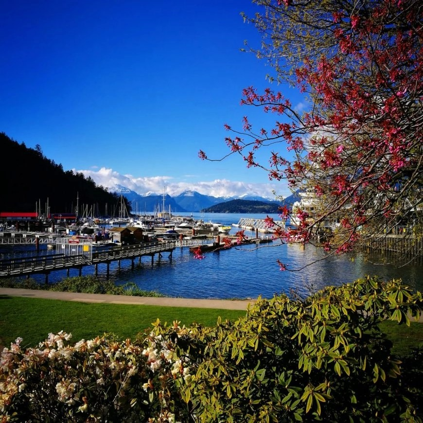 Destination Addict - Gorgeous views from Horseshoe Bay, North Vancouver, Canada