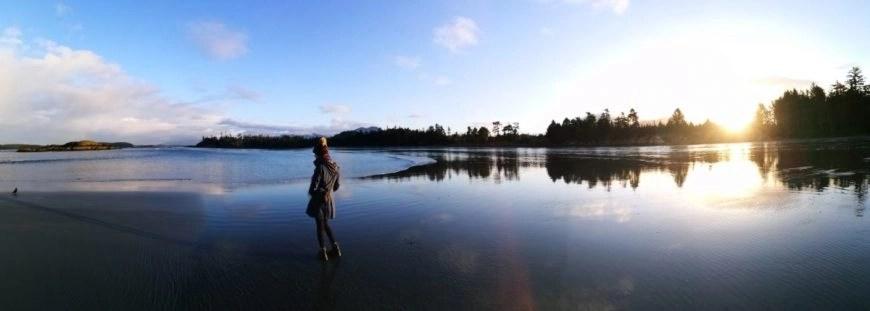 Destination Addict - Taking it all in at MacKenzie Beach, Tofino, British Columbia, Canada