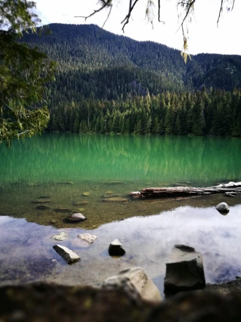 Destination Addict - At one with nature whilst hiking Cheakamus Lake, near Whistler, British Coilumbia, Canada