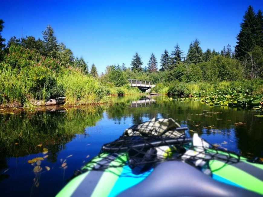 Destination Addict - Kayaking the river of Golden Dreams, Whistler, British Columbia, Canada