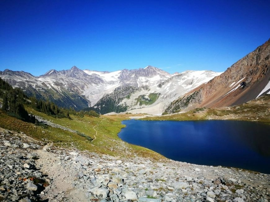 Whistler hikes - Russet Lake & it's wide open campground
