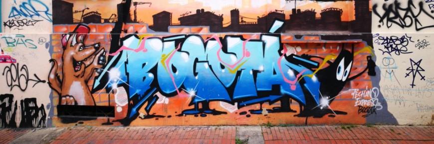 Destination Addict - Street Art in Colombia's Capital, Bogota