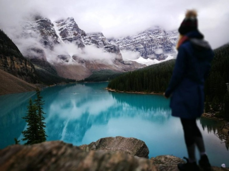 Destination Addict - Moraine Lake-, Alberta, British Columbia, Canada - 10 Canadian Lakes that will blow your mind