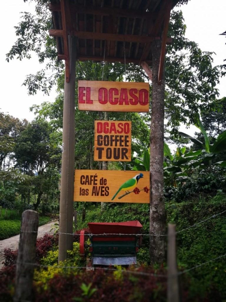 Destination Addict - El Ocaso coffee finca, Salento, Colombia